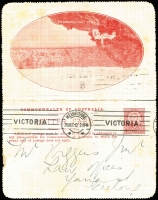Lot 836 [4 of 5]:1911-16 Group all used with KGV Fullface light blue Sydney Harbour, red Giant Red Gum, brown Blue Lake, Kangaroo & Map grey The Two Brothers and deep blue Mt Lofty Ranges, KGV Sideface deep grey-blue/purple-brown bi-colour Sydney Heads. BW #LC8(128A), 12(12), 12(50), 14(135E), 15(84E) & 18(129A), Cat $450+. Small faults, useful group. (6)