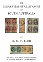 Lot 144:Australia - South Australia: South Australia: The Departmental Stamps of South Australia by RA Butler, in original box.