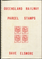 Lot 1167 [3 of 3]:Australian States: trio of elusive publications: Handstamps of the Travelling Post Offices of New South Wales by Frankenstein; Queensland Railway Parcel Stamps by Elsmore (1988 revised edition); Revenue and Railway Stamps of Tasmania by Craig & Ingles (1978), generally good condition. (3)