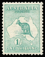 Lot 1:½d to 1/- simplified set, fresh MUH, Cat $6,500+. 