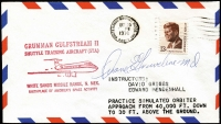 Lot 1876 [1 of 4]:1975-77 Illustrated Covers For Space Test Flights with signatures of Graveline, Fulton, Hartsfield, Lenoir, Mallick, Bean, Holmquest & Llewellyn. Nice lot. (8)