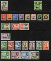 Lot 1:Africa mint group, Bechuanaland 10/- KGVI, British 