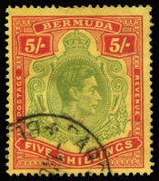 Lot 5:British West Indies mint group. Barbados 1950 set, 