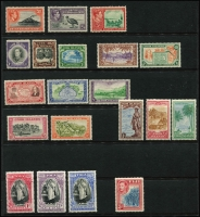 Lot 9:Pacific Islands mint group with Solomons 1939-51 2/