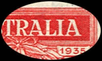 Lot 583 [2 of 9]:1935 Anzac 2d & 1/- pair, 2d bottom corner of 9 with AL joined by coloured line, 2d set of plate number blocks of 4, BW #164-5, mint. Plus Vic Centenary complete MLH set of both perfs. (22 items)