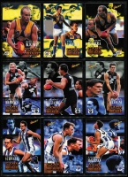 Lot 1054 [5 of 7]:Sport: AFL 1995-1998: 1998 Select All Australia Team (21), Stand Up Stickers - Set of 72, 1995 Gamebreaker (64), 1995 Draft Pick (22) 1995 Lifetime Best (18), 3D cards (15). (210+)