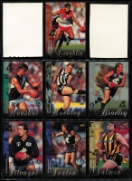 Lot 1054 [1 of 7]:Sport: AFL 1995-1998: 1998 Select All Australia Team (21), Stand Up Stickers - Set of 72, 1995 Gamebreaker (64), 1995 Draft Pick (22) 1995 Lifetime Best (18), 3D cards (15). (210+)