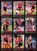 Lot 1055 [2 of 6]:Sport: AFL 1996: Select Players Collection - Full set of 250 Cards (All Australians 227-248 Omitted) & Best & Fairest - Set of 16. (240+)