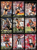 Lot 1055 [3 of 6]:Sport: AFL 1996: Select Players Collection - Full set of 250 Cards (All Australians 227-248 Omitted) & Best & Fairest - Set of 16. (240+)