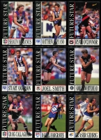 Lot 1055 [1 of 6]:Sport: AFL 1996: Select Players Collection - Full set of 250 Cards (All Australians 227-248 Omitted) & Best & Fairest - Set of 16. (240+)