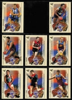 Lot 1057 [2 of 5]:Sport: AFL 1999-2010: sets of 22 for each year, 2002 both Exclusive & SPX, 2008 both Classic & Holofoil. Retail $2,200+. (280+)