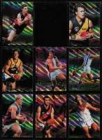 Lot 1057 [4 of 5]:Sport: AFL 1999-2010: sets of 22 for each year, 2002 both Exclusive & SPX, 2008 both Classic & Holofoil. Retail $2,200+. (280+)