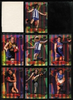 Lot 1057 [5 of 5]:Sport: AFL 1999-2010: sets of 22 for each year, 2002 both Exclusive & SPX, 2008 both Classic & Holofoil. Retail $2,200+. (280+)