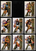 Lot 1057 [1 of 5]:Sport: AFL 1999-2010: sets of 22 for each year, 2002 both Exclusive & SPX, 2008 both Classic & Holofoil. Retail $2,200+. (280+)