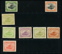 Lot 1447 [4 of 4]:Lakatois small mint collection, incl 1901-05 ½d to 1/-, 1907-10 ½d to 1/- with various wmks and perfs, 1911-15 ½d to 6d, 1930 Airs, 1931 Surcharges etc. Generally good condition with minor duplication. (50)