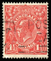 Lot 294:1½d Red Die I BW #89(14)i