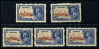 Lot 937 [5 of 9]:British West Indies mainly used duplicates Barbados ½d & 1d Small Seal and 1d QV, Bermuda 1865-1903 QV to 6d, 1910-25 Ship to 6d, 6d mint Tercentenary, Jubilee to 2½d, 1936-47 Pictorials, ½d to 1/6d, Jamaica 1919-21 Pictorials 1d to 1/-, good range of pmks, Trinidad 1863-80 P12½ (1d) to 1/- (incl Wmk reversed (1d), 6d & 1/- mauve) also P14 (1d) to 1/- and a few Trinidad & Tobago issues. Plenty to sort through here. (100s)