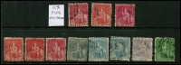 Lot 937 [1 of 9]:British West Indies mainly used duplicates Barbados ½d & 1d Small Seal and 1d QV, Bermuda 1865-1903 QV to 6d, 1910-25 Ship to 6d, 6d mint Tercentenary, Jubilee to 2½d, 1936-47 Pictorials, ½d to 1/6d, Jamaica 1919-21 Pictorials 1d to 1/-, good range of pmks, Trinidad 1863-80 P12½ (1d) to 1/- (incl Wmk reversed (1d), 6d & 1/- mauve) also P14 (1d) to 1/- and a few Trinidad & Tobago issues. Plenty to sort through here. (100s)