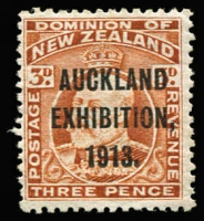 Lot 1780 [2 of 4]:1913 Auckland Exhibition complete set, SG #412-15, MUH, Cat £300. (4)