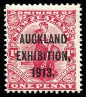 Lot 1780 [3 of 4]:1913 Auckland Exhibition complete set, SG #412-15, MUH, Cat £300. (4)