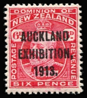 Lot 1780 [1 of 4]:1913 Auckland Exhibition complete set, SG #412-15, MUH, Cat £300. (4)