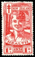 Lot 1782 [2 of 2]:1931 Health Smiling Boys set, SG #546-47, MUH, Cat £150. (2)