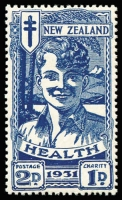 Lot 1782 [1 of 2]:1931 Health Smiling Boys set, SG #546-47, MUH, Cat £150. (2)