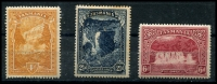 Lot 722 [1 of 5]:Pictorials Group with 3d x35 (perf 'T' x6), 4d x30 (perf 'OS' x1, perf 'T' x13), 5d perf 'T' x35 & 6d x35 (perf 'T' x5). Plus mint 2½d (toned), 4d & 6d. A handy group with several printings and shades. (138)