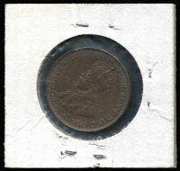 Lot 146 [1 of 2]:Australia: 1936 ½d eight clear pearls.