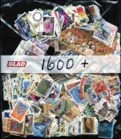 Lot 357:1,600+ - All Different fine used, earlier commemoratives mainly letter rates with some higher values.