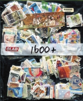 Lot 356:1,600 - All Different fine used, including some internationals and earlier issues.
