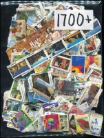 Lot 361:1,700+ - All Different fine used, earlier commemoratives mainly letter rates but some higher value and scarcer issues.