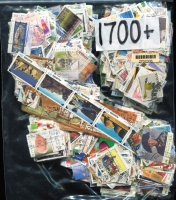 Lot 360:1,700 - All Different fine used, including some Internationals, earlier and some scarcer issues.