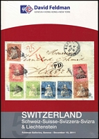 Lot 35:Switzerland - Auction Catalogues: Switzerland: Schweiz-Suisse-Svizzera-Svizra & Liechtenstein published by Feldman, Geneva, December 2010. (Unopened).