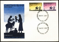 Lot 14747 [6 of 10]:Territories incl [1] Christmas Island 1970-2005 duplicated FDCs some with M/Ss, se-tenant strips, incl 1970 Fish (14th Dec) 15c & 30c, 2004 Year of the Monkey (signed by cover designer) & few Stationery items all with Christmas Island pmks, range of covers incl Stationery items with various 'Year of the....' pmks from 'Chinatowns' in Cabramatta, Haymarket, or Little Bourke Street, incl some 'First' or 'Last Day' of pictorial pmks, also 2002 Year of the Horse FDC with 'SCONE/NSW' pictorial [horse] cancel in violet. 'A.Post' or 'Alpha' covers. [2] Cocos. [3] Nauru small range of presentation packs, plus few addressed FDC incl 1966 picts set on 6 addressed covers to GB. [4] PNG. [5] also Solomon Islands 1987 America's Cup sheet of 50. Generally fine. (120+)
