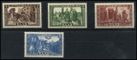 Lot 2256 [2 of 2]:1950 National Relief Fund 8f+2f to 50f+20f set Mi #299-303.