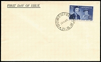 Lot 310:Swanston 1960 5d Girl Guides on generic unaddressed FDC with 'BOWENFELLS/NSW' cds. Retail $185+.