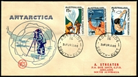 Lot 1291 [2 of 3]:1966 (28 Sep) Pictorials on Wesley FDCs each cancelled with Adelaide cds. Covers with mainland cancels are very scarce. (3)
