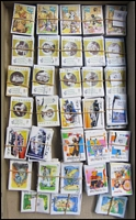 Lot 165:1998-2002 Sheet Stamps 1998 45c Olympic Legends (Min. 42 sets), 1999 45c Playschool (Min. 85 sets), 2001 45c Marsupial Characters (Min. 29 sets), 2002 45c Racing Cars (Min. 22 sets), 45c Fairy Tales (Min. 22 sets). (1,499)