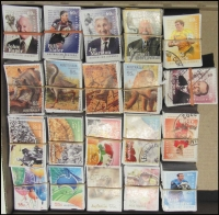 Lot 169:2008-12 Sheet Stamps 2008 55c Dinosaurs (100 sets), 55c Celebrations (100 sets), 2009 55c Aust. Sweets (100 sets), 2012 Football Legends (100 sets). (2,300)