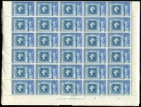 Lot 50 [2 of 3]:World Mauritius 1948 Stamp Centenary (50 sets on large blocks) range of low values in part sheets (with some perf separating) or blocks, etc from Bech. Protectorate, Northern Rhodesia, Nyasaland, Seychelles, also PNG 1980 South Pacific Festival of Arts (20 strips in 2 sheets). Generally fine. (100s)