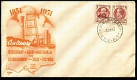 Lot 346:Chullora Camp: 'Chullora Camp' on Wide World Gold/Victoria unaddressed FDC.