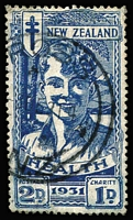 Lot 1463 [1 of 2]:1931 Smiling Boys with circular cancels, very fine. SG #546-7, Cat £135. (2)