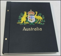 Lot 139:Australia 2 pre-loved boxed DAVO albums with pages to 2007, (with few decimal issues), also pages for Officials, Postage Dues, M/Ss, AAT.