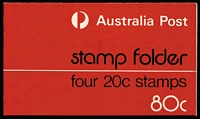 Lot 300 [2 of 4]:1979 60c (3x20c) (10, incl one with white writing [A.Post & Logo partially covered by red overinking]) & 80c (4x2) Test Folders (13), 1982 Eucalypt 60c & $1 (7 of each incl 2 with FDI cancels), 1984 Cockatoo $1 (7), plus $3.70 Postal Services & $3.90 Living Together. (46)