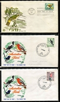 Lot 259 [3 of 3]:1937-65 Accumulation incl 1937 NSW Sesqui on registered FDC, 1964 Navigators (Feb) 7/6d, 10/- & £1 & (Nov) 5/- on separate 'Wesley' unaddressed covers, few 'Cover Craft', 'Haslem', 'Miller Bros', 'Royal', 'Wesley', 'Wide World', etc, also several commem pmks incl 1951 'ANPEX' cancels, 1952 Pan-Pacific Scout Jamboree reg label on FDC. Generally fine and mostly unaddressed. (74)
