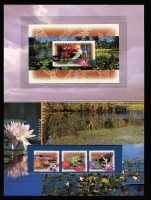 Lot 223:1995-2000 Pack collection in special PW album, few Joint issues, etc, Face Val $250. (66 items)