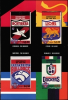 Lot 319 [2 of 4]:1996-2003 Booklet Selection incl 1996 Football (2 sets of 16 booklets in special folders), several Prestige booklets incl 1997 Classic Cars, 1998 Leunig, Premium Booklets incl 2002 Greetings (2) to 2003 Murray River Shipping. Face Val $280. (15 items)