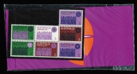Lot 216 [2 of 2]:1971 7c Christmas six blocks of 7 incl pack that has been resealed. Retail150++. BW #572-85. (6 items)