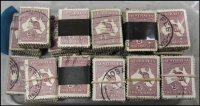 Lot 286:2/- Maroon 2,000 in bundles of 100.